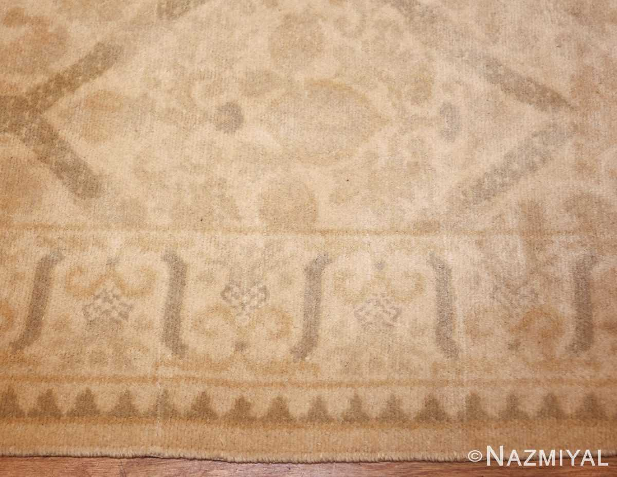 room size vintage spanish rug 50591 border Nazmiyal