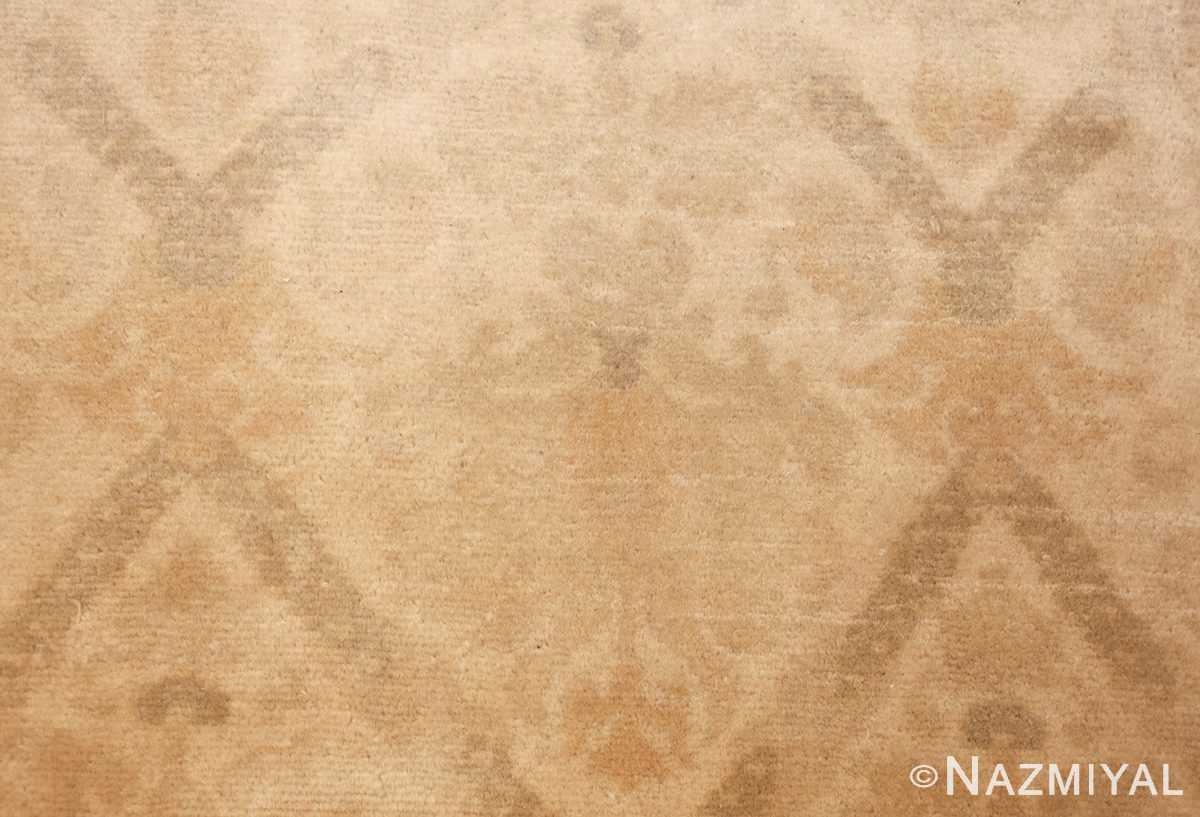 room size vintage spanish rug 50591 closeup Nazmiyal