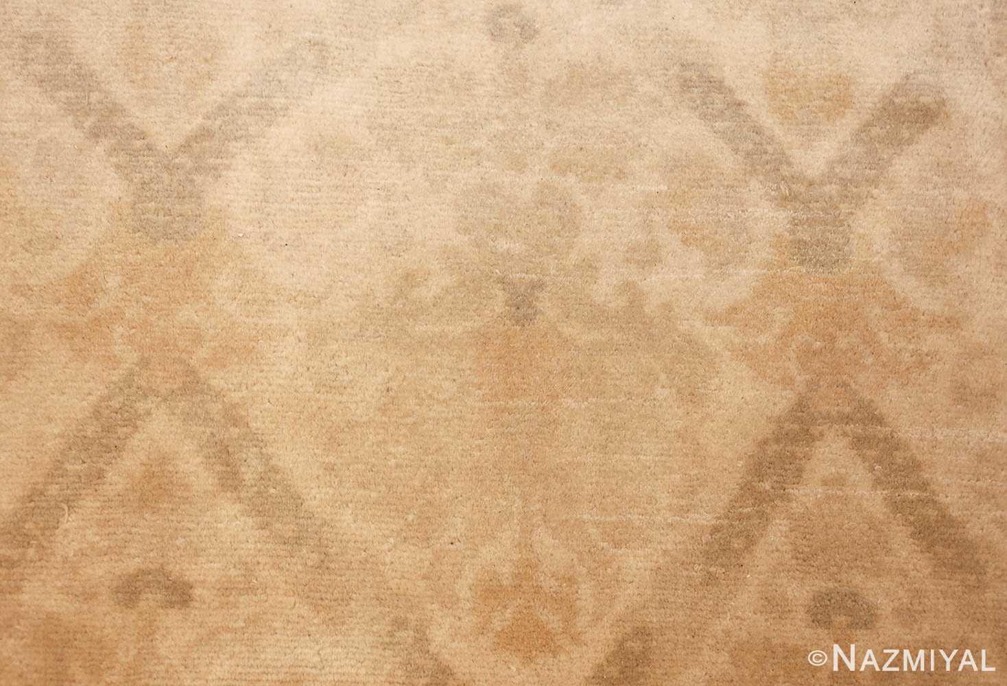 room size vintage spanish rug 50591 closeup Nazmiyal