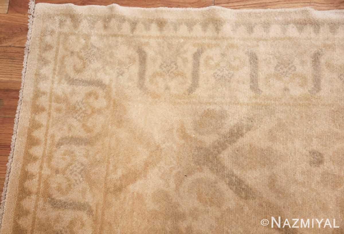 room size vintage spanish rug 50591 corner Nazmiyal
