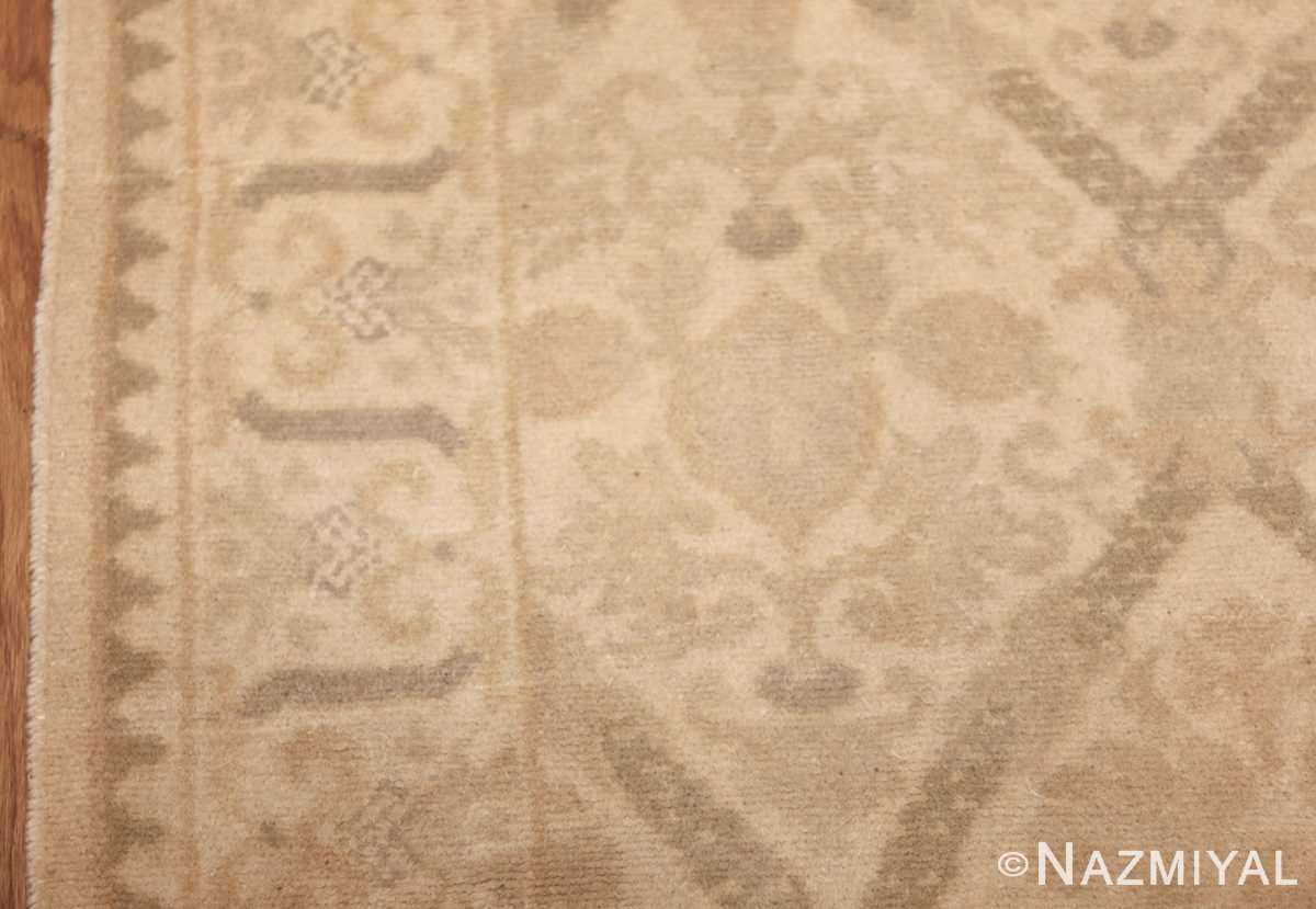 room size vintage spanish rug 50591 design Nazmiyal
