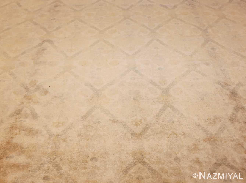 room size vintage spanish rug 50591 field Nazmiyal