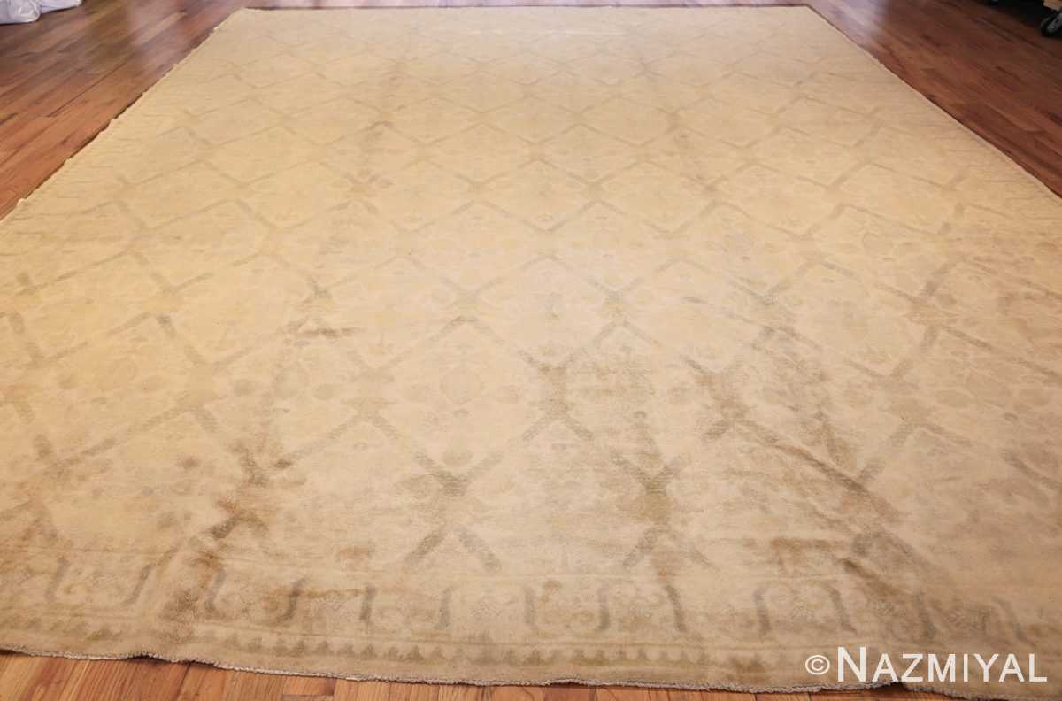 room size vintage spanish rug 50591 whole Nazmiyal
