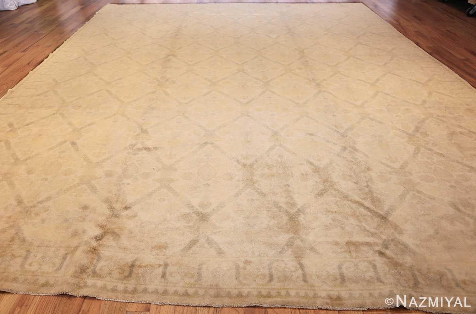 room size vintage spanish rug 50591 whole Nazmiyal
