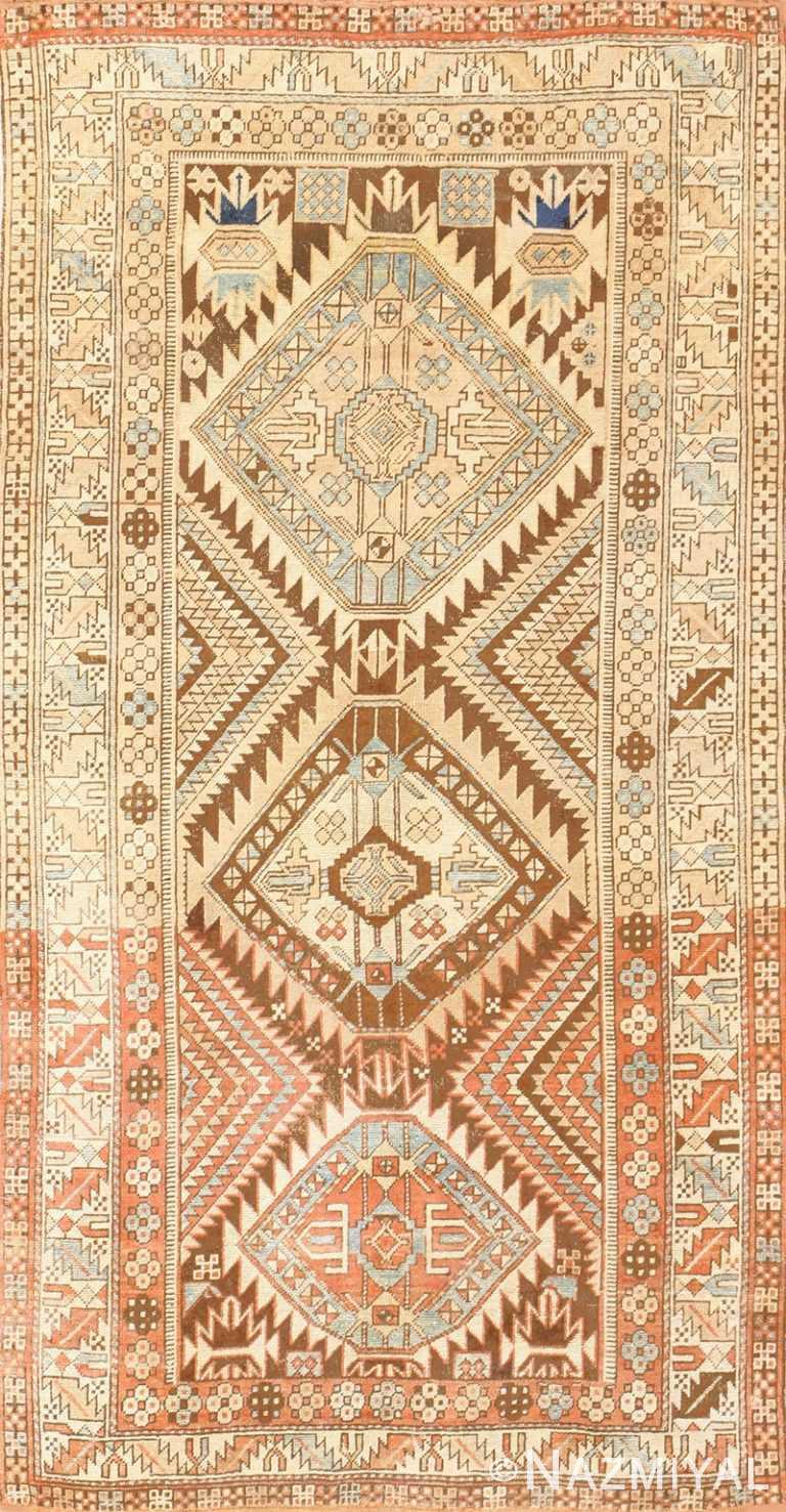 Vintage Caucasian Shirvan Rug 50464