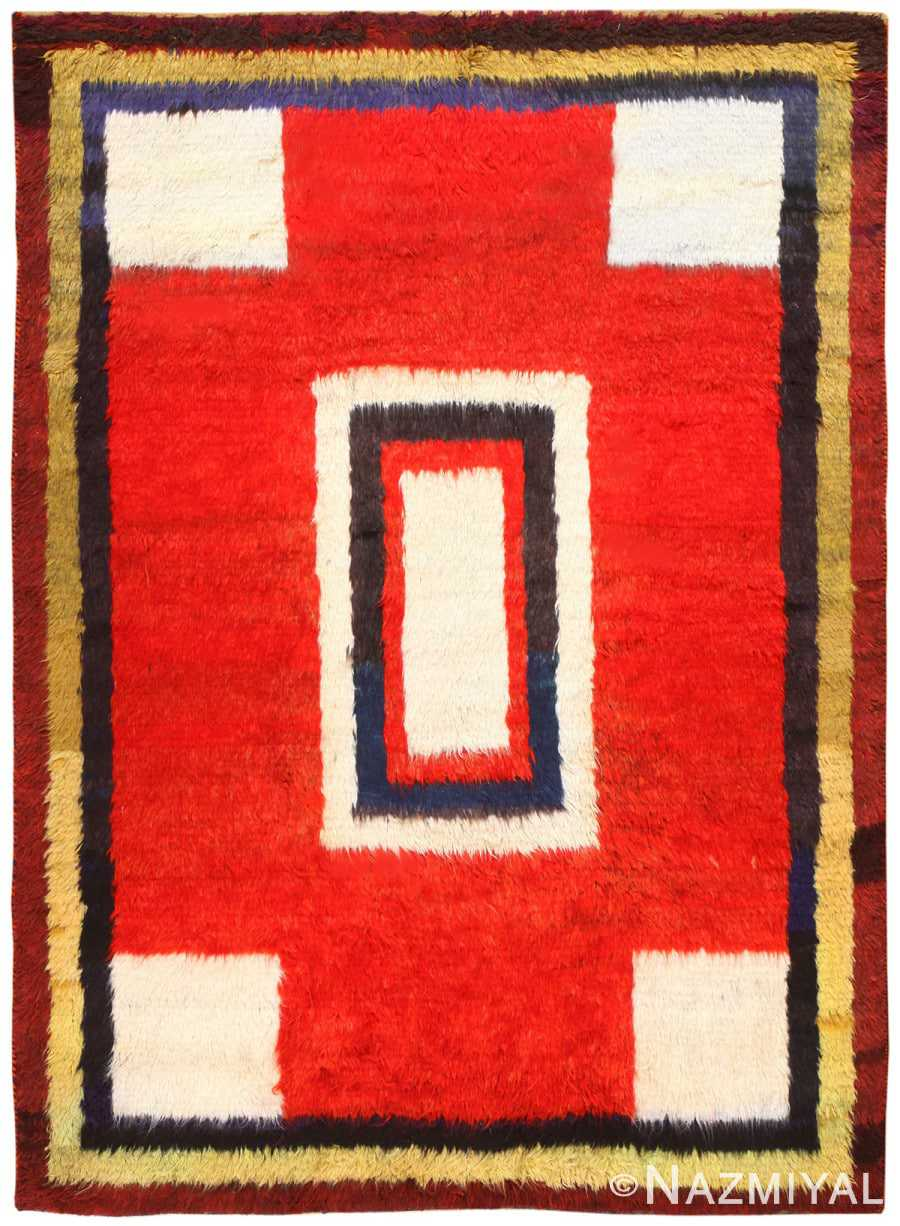 Vintage Persian Gabbeh Rug 48775 Detail/Large View