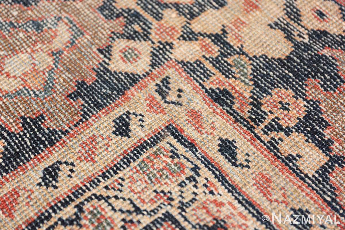 Weave detail Large Oversized Antique Persian Sultanabad rug 50377 by Nazmiyal