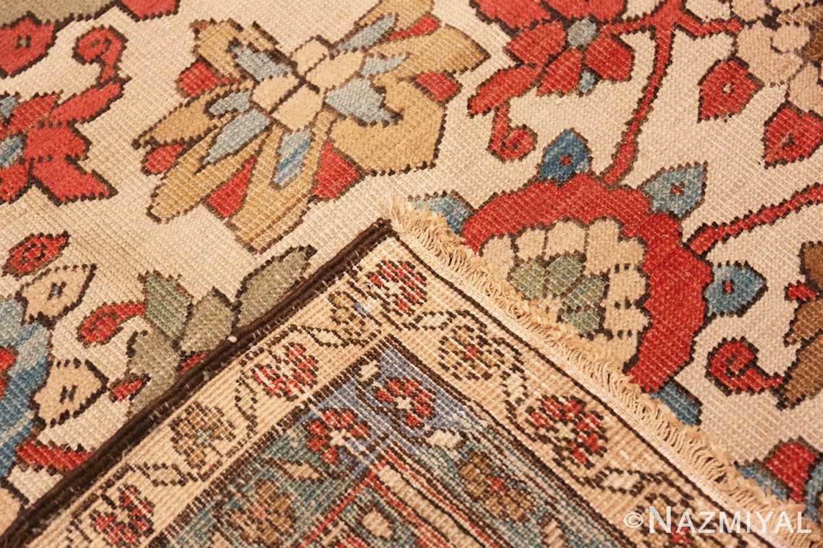 Weave Large colorful Antique Persian Serapi rug 50593 by Nazmiyal