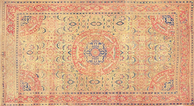 Antique 17th Century Cairene Rug