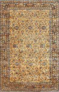 Beautiful Large Antique Persian Kerman Rug 50624 Nazmiyal