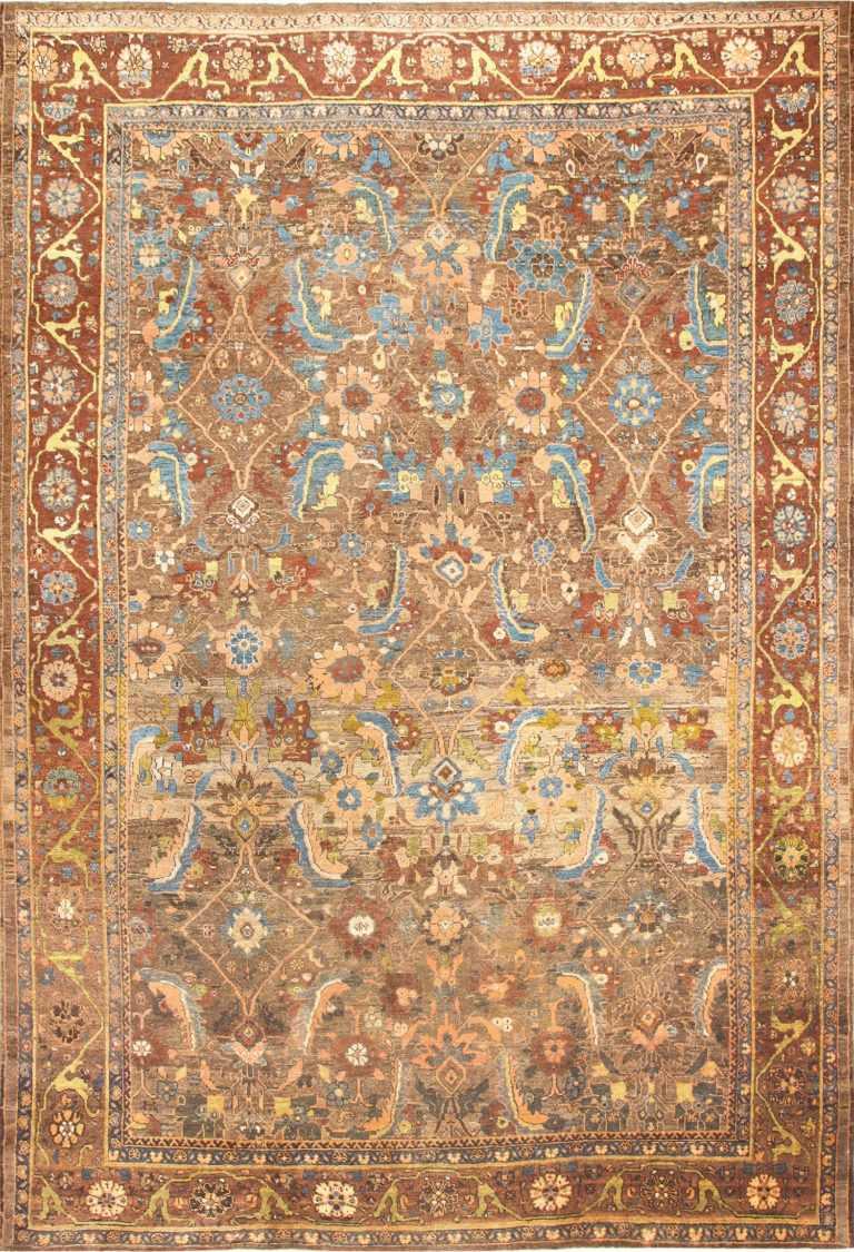 Beautiful Large Antique Persian Sultanabad Rug 50491 Nazmiyal