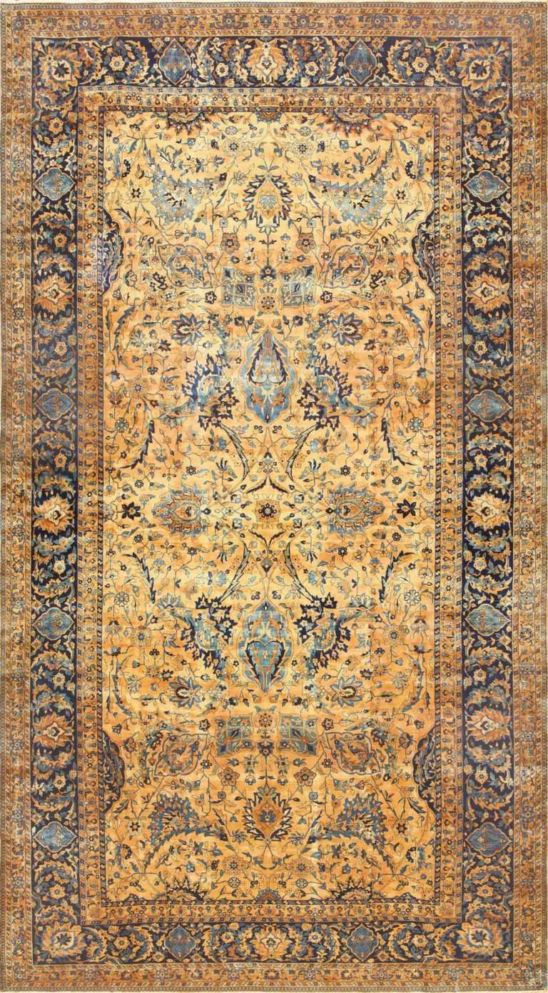 Oversized Antique Persian Kerman Rug 50618 Nazmiyal
