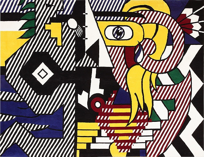 Pop Art Roy Lichtenstein Tapestry Rug Art