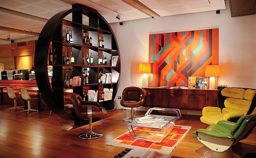 Retro Interior With Retro Rugs - Nazmiyal NYC