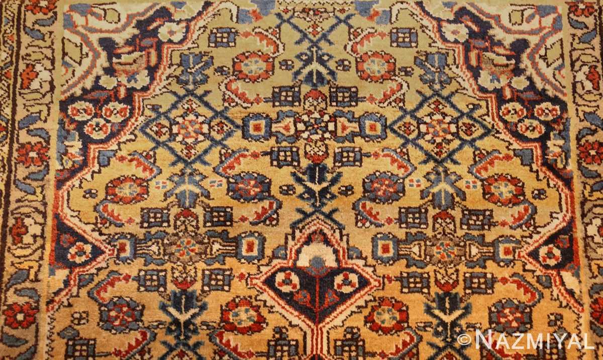 antique persian mahi fish design malayer rug 50642 top Nazmiyal