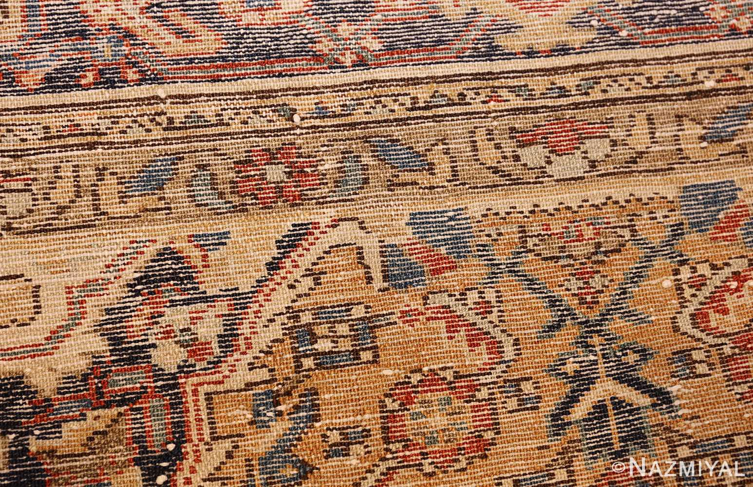 antique persian mahi fish design malayer rug 50642 weave Nazmiyal