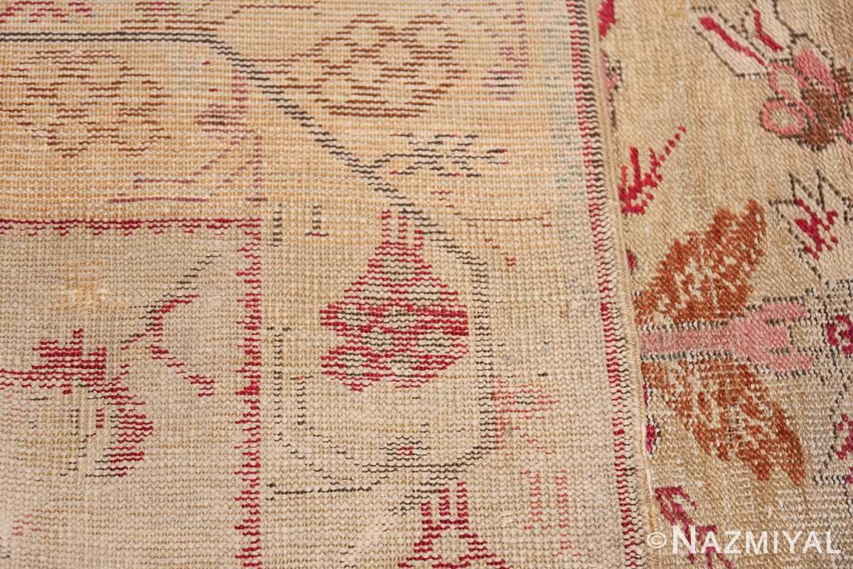 Antique Shabby Chic Tribal Turkish Ghiordes Rug 50640 Knots Woven Nazmiyal