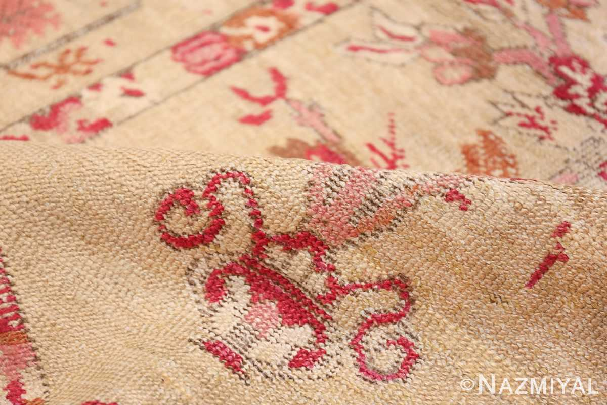 Antique Shabby Chic Tribal Turkish Ghiordes Rug 50640 Pile Nazmiyal
