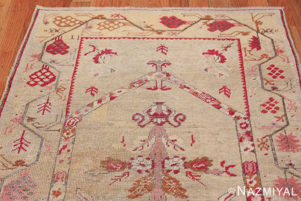 Antique Shabby Chic Tribal Turkish Ghiordes Rug 50640 Top Design Nazmiyal