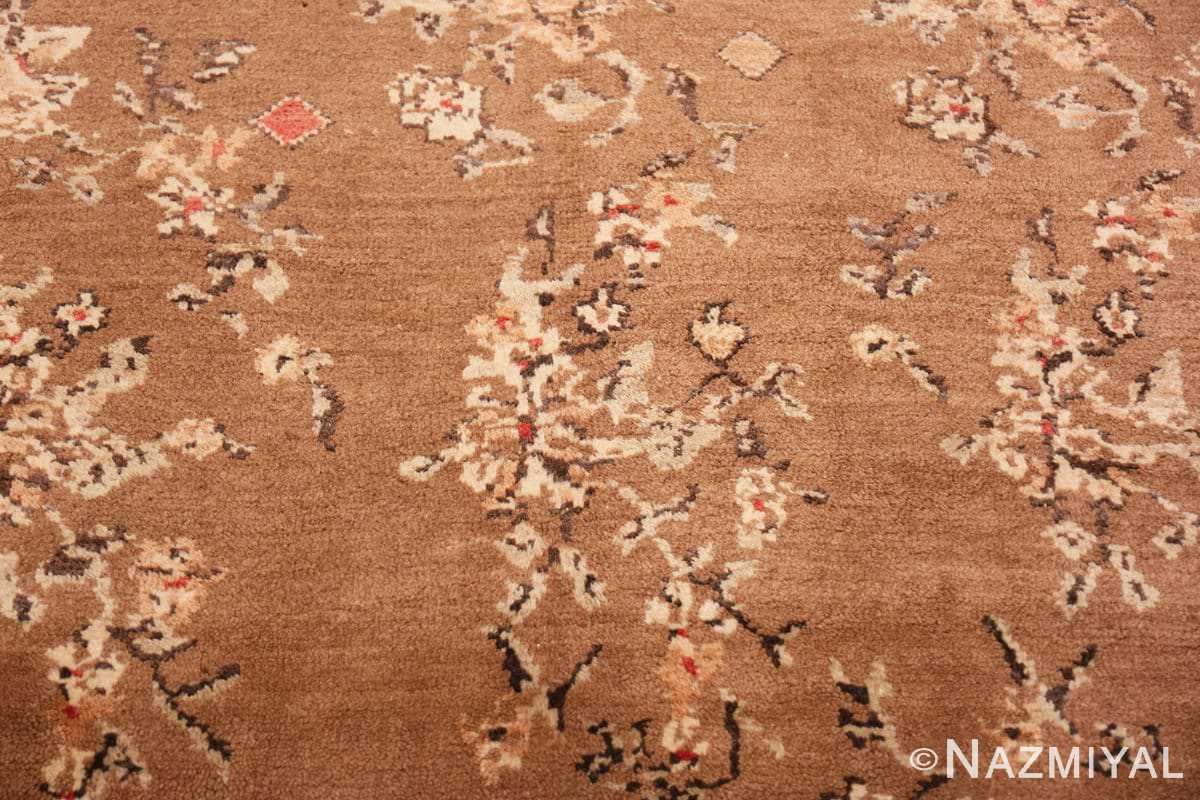 Background Square size Vintage decorative Turkish rug 50631 by Nazmiyal