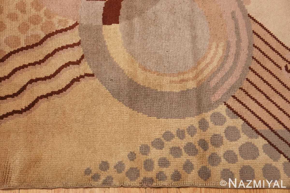 beautiful antique french art deco carpet 50551 border Nazmiyal