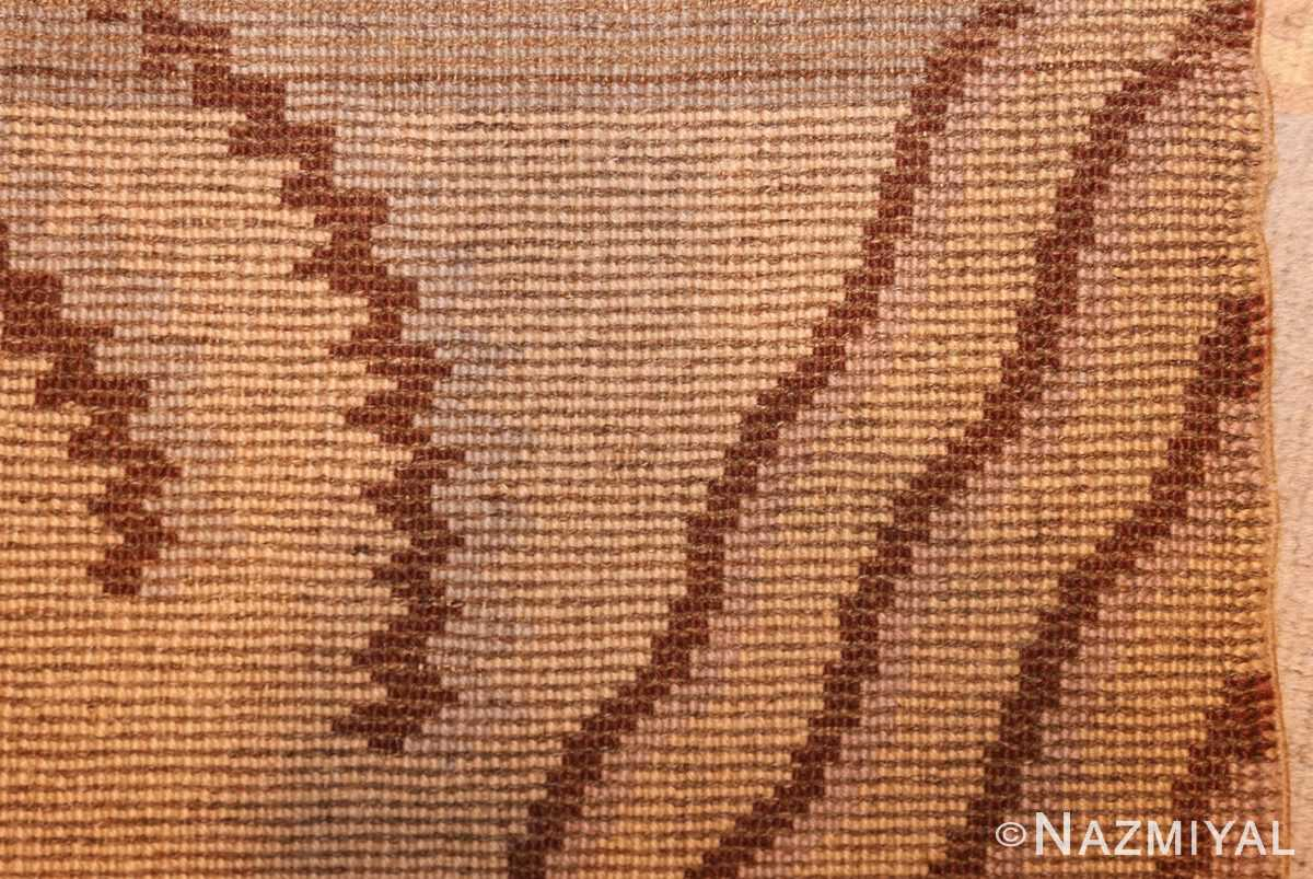 beautiful antique french art deco carpet 50551 weave Nazmiyal