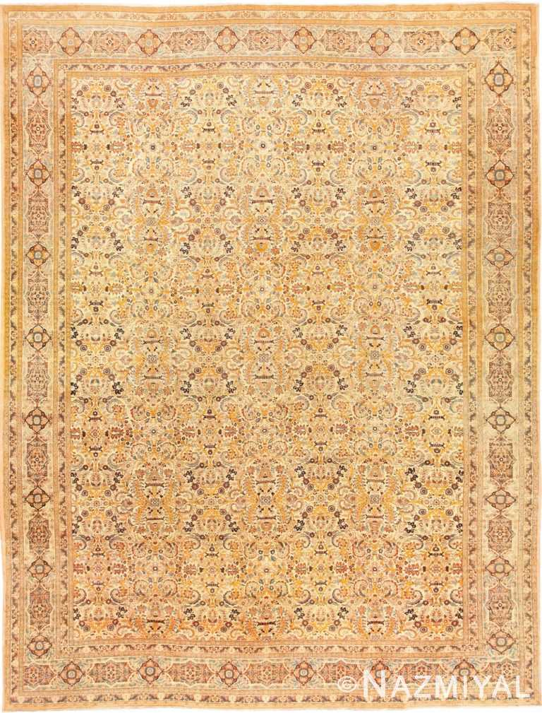Beautiful Antique Persian Haji Jalili Tabriz Rug 50588 Nazmiyal