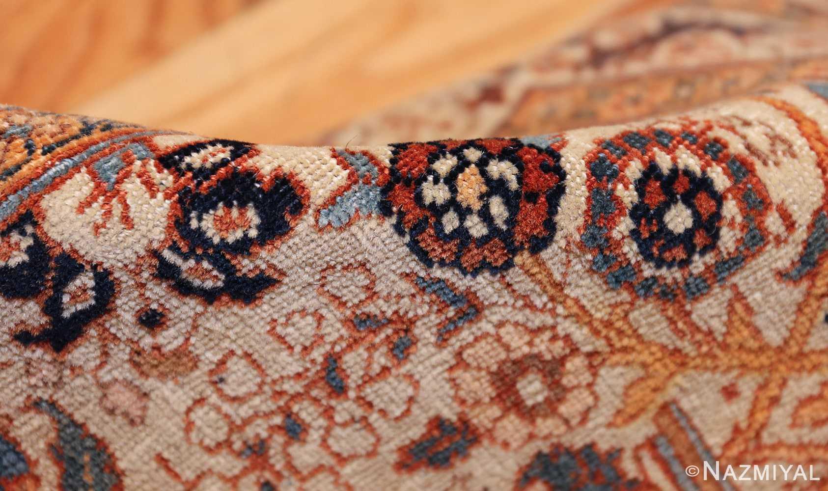beautiful antique persian haji jalili tabriz rug 50588 pile Nazmiyal