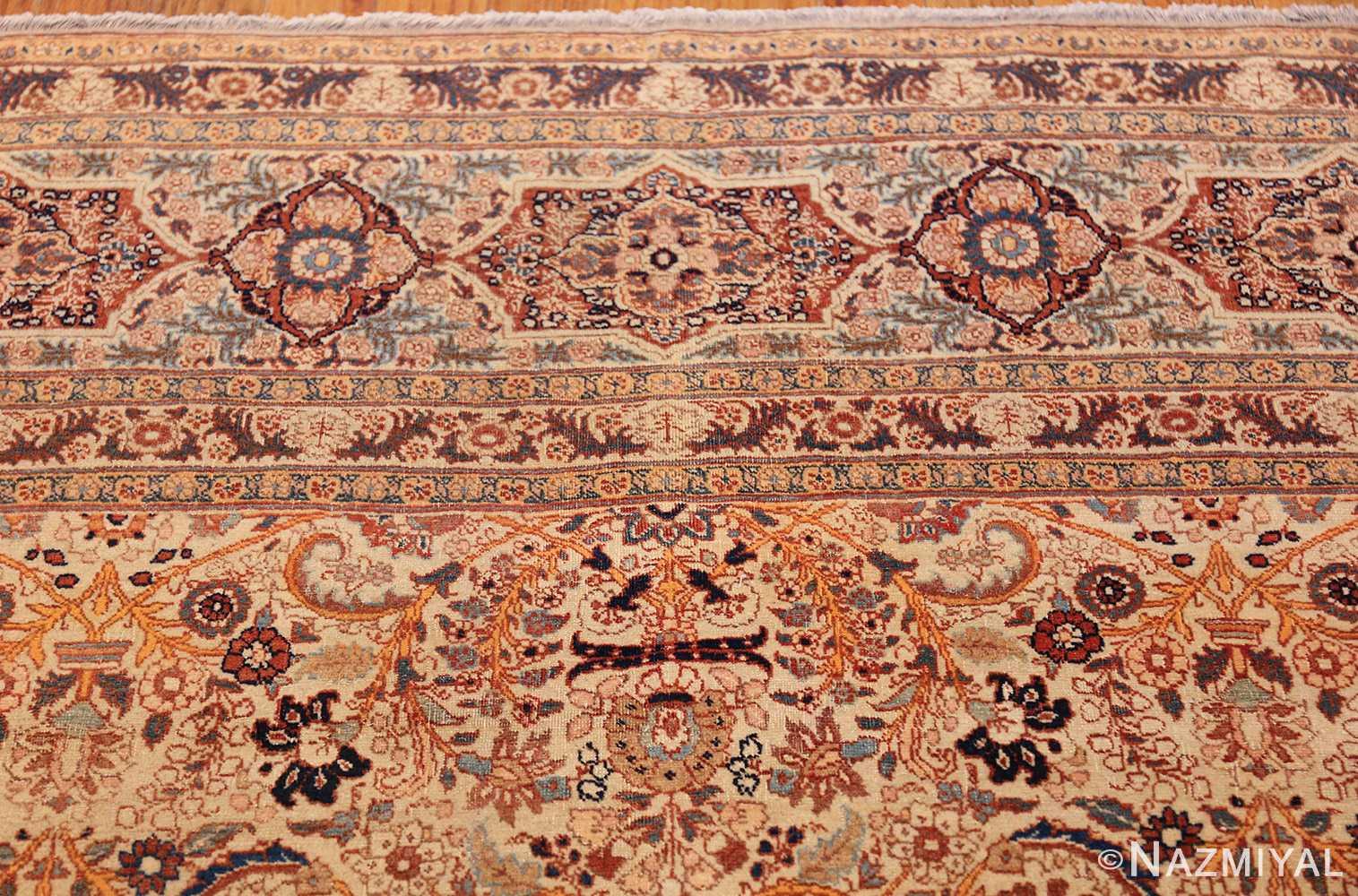 beautiful antique persian haji jalili tabriz rug 50588 top Nazmiyal