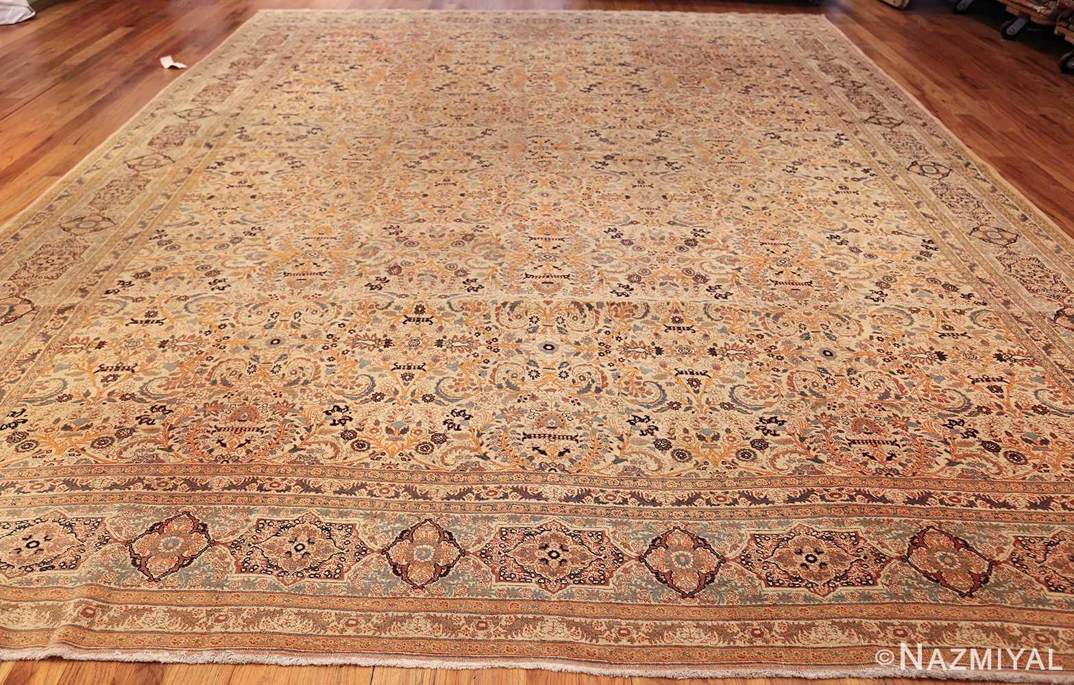 beautiful antique persian haji jalili tabriz rug 50588 whole Nazmiyal