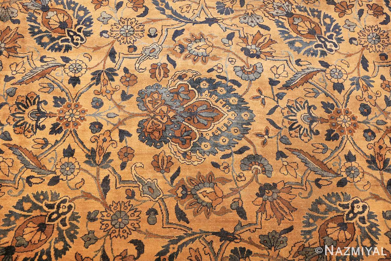 beautiful large antique persian kerman rug 50624 field Nazmiyal