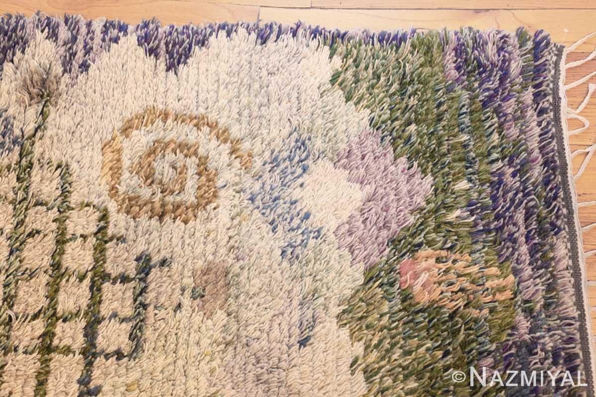 beautiful shag vintage swedish rya rug 48797 corner Nazmiyal