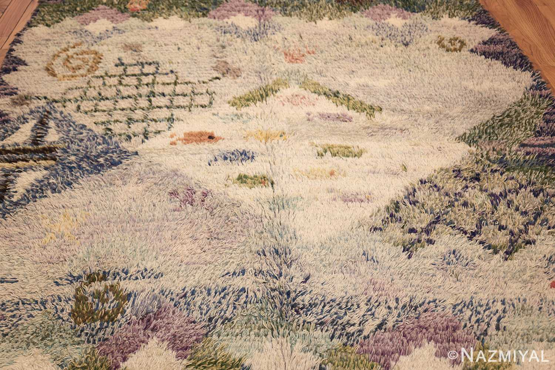 beautiful shag vintage swedish rya rug 48797 field Nazmiyal