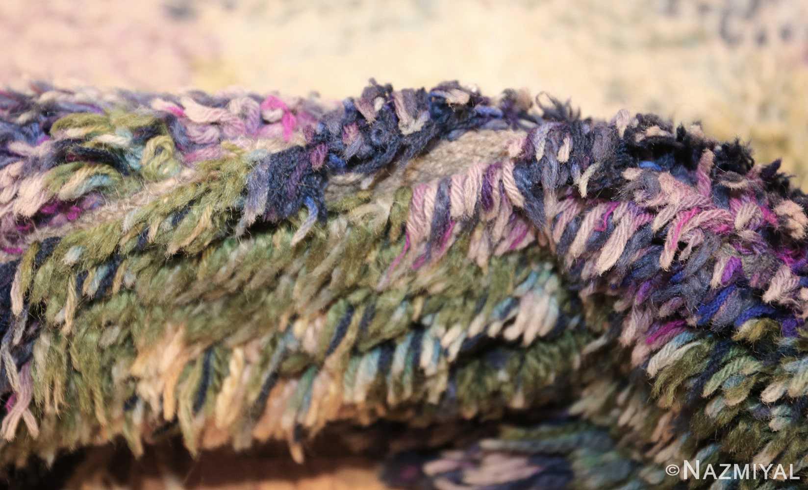 beautiful shag vintage swedish rya rug 48797 pile Nazmiyal
