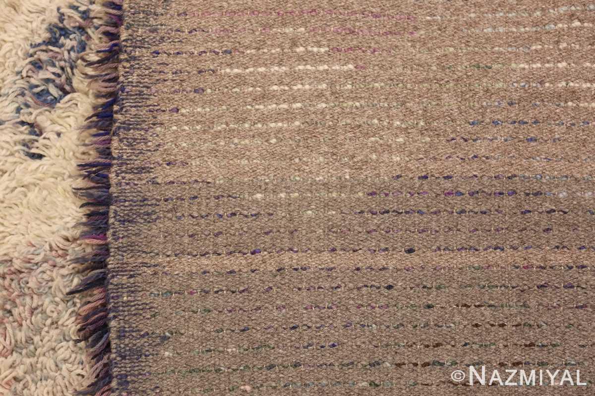 beautiful shag vintage swedish rya rug 48797 weave Nazmiyal
