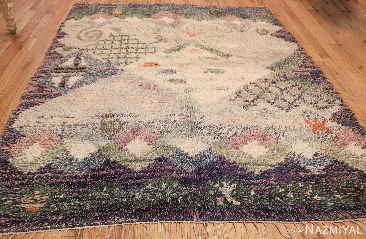 beautiful shag vintage swedish rya rug 48797 whole Nazmiyal