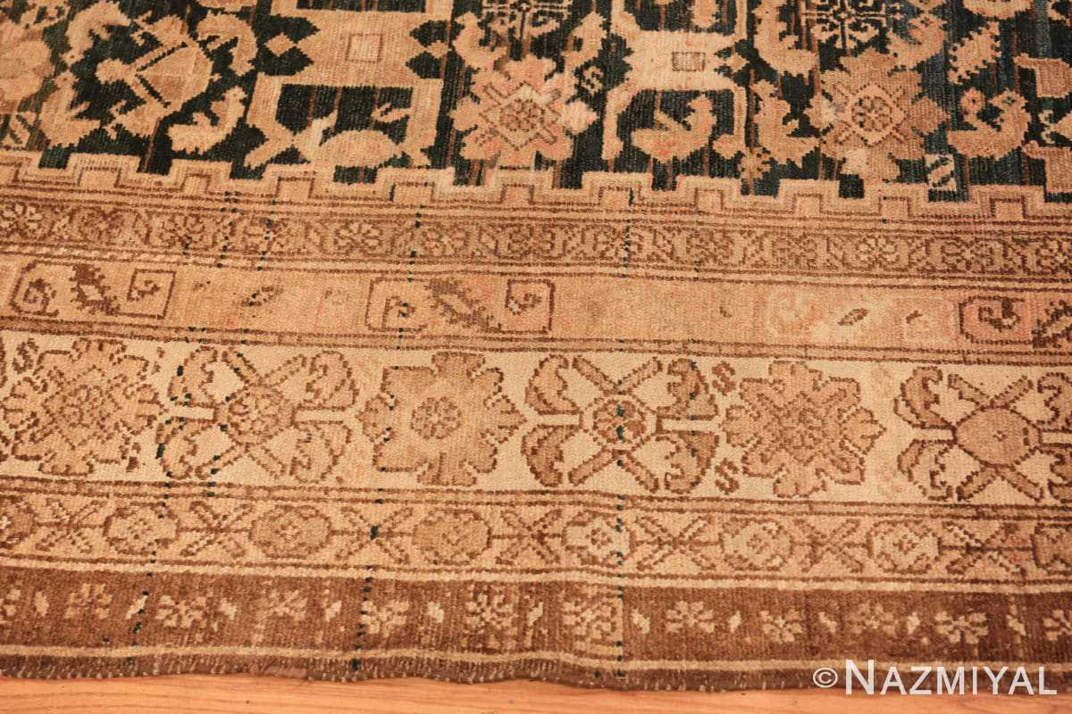 Border Antique gallery size tribal Persian Malayer rug 50469 by Nazmiyal Antique Rugs in NYC