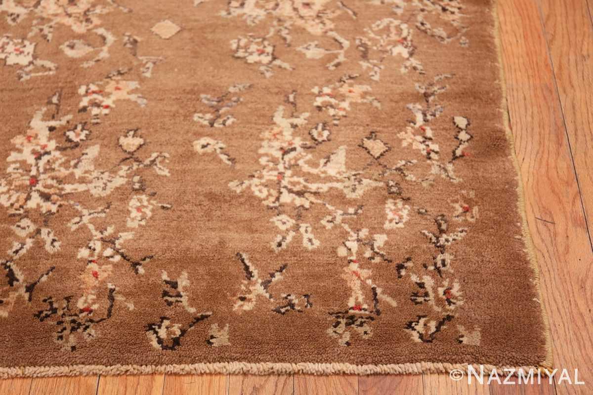 Corner Square size Vintage decorative Turkish rug 50631 by Nazmiyal