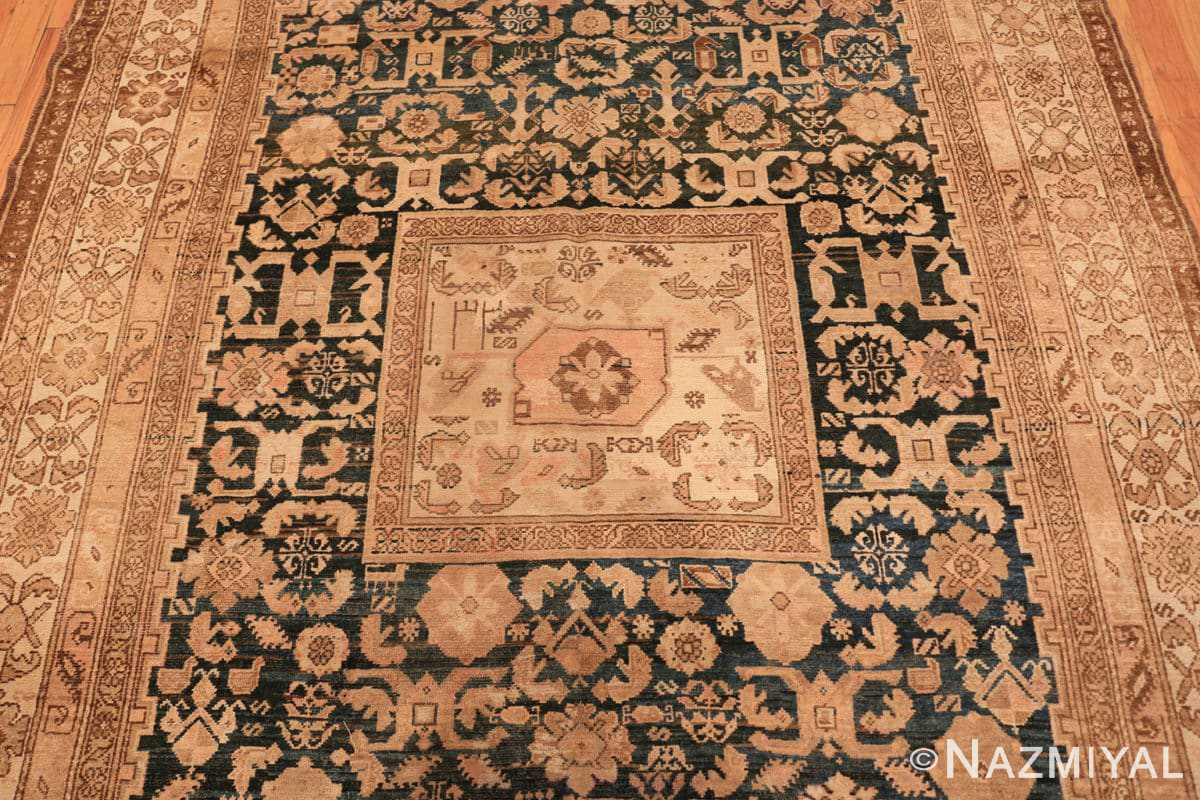 Field Antique gallery size tribal Persian Malayer rug 50469 by Nazmiyal Antique Rugs in NYC