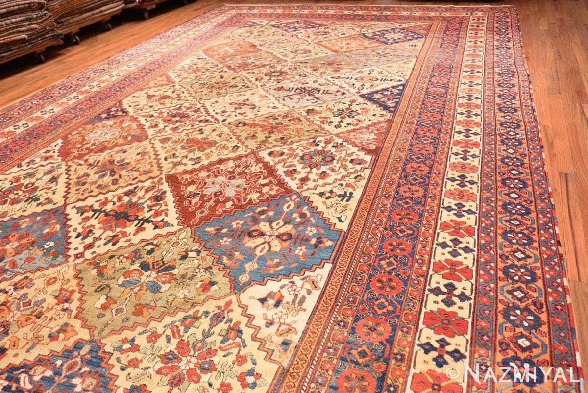 Full Oversize Tribal Persian Qashqai Antique rug 50619 by Nazmiyal