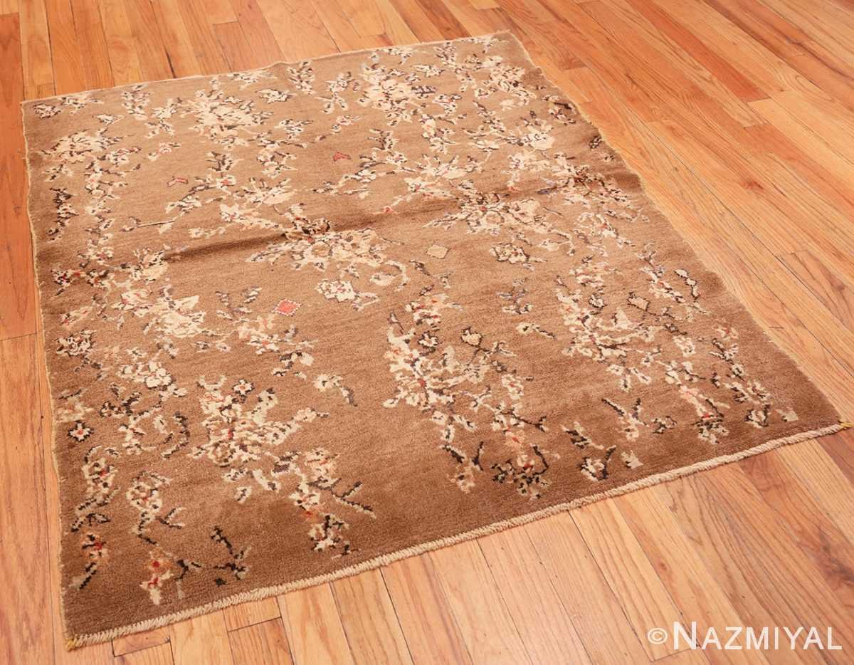 Full Square size Vintage decorative Turkish rug 50631 by Nazmiyal