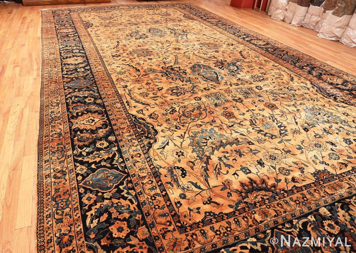 Full view Oversized Antique Persian Kerman rug 50618 by Nazmiyal