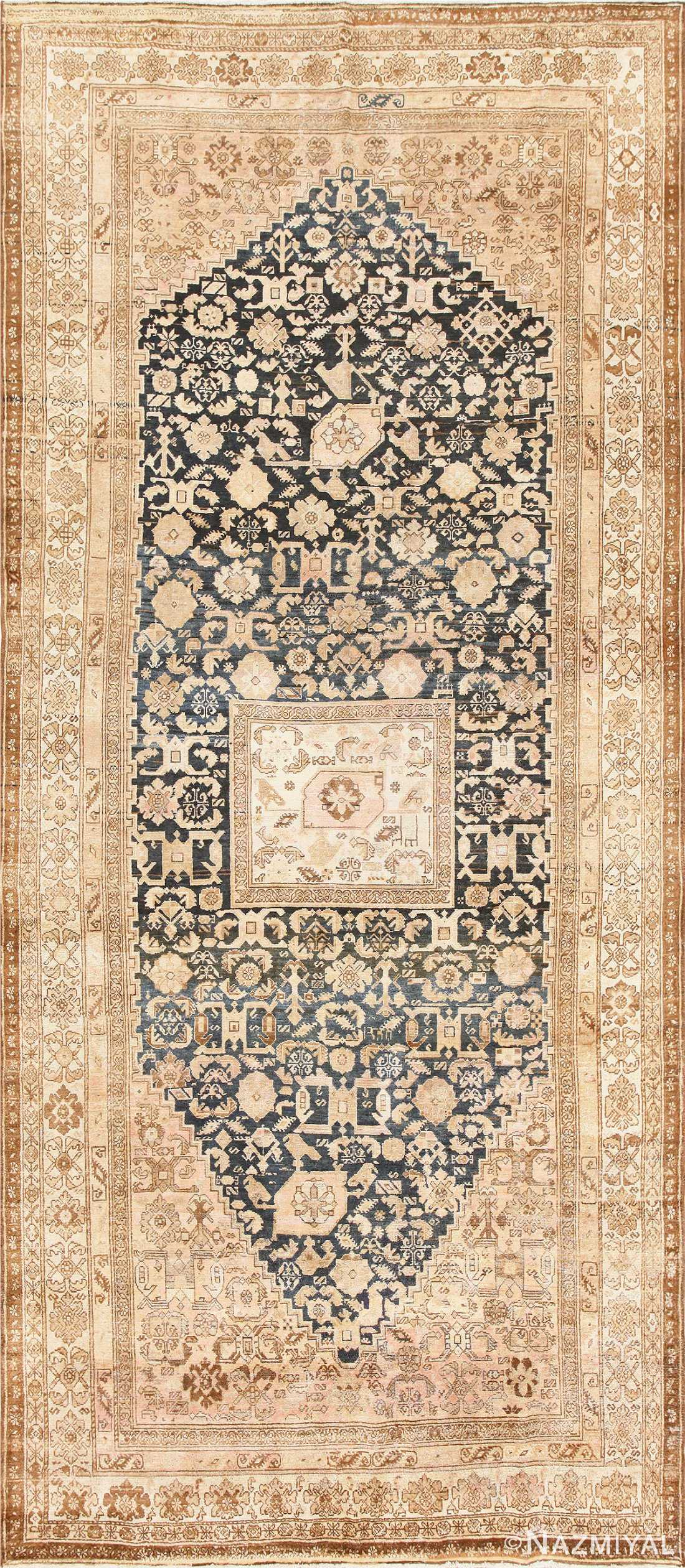 Gallery Size Antique Tribal Persian Malayer Rug 50469 Nazmiyal