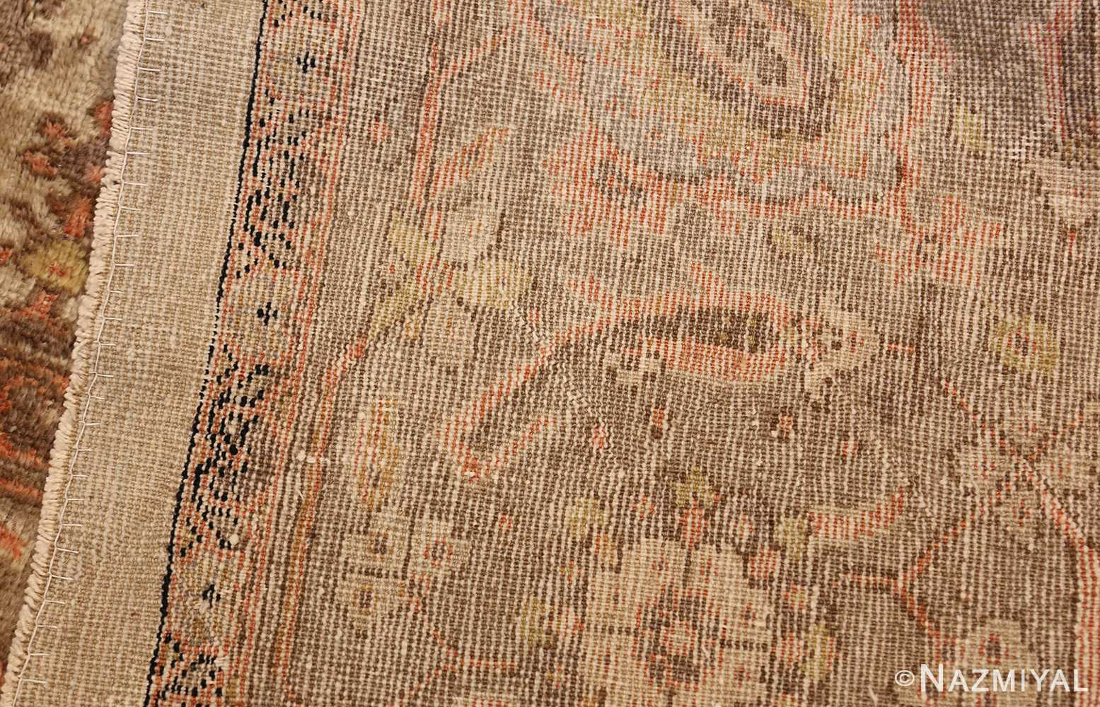 ivory antique square persian sultanabad rug 50590 weave Nazmiyal