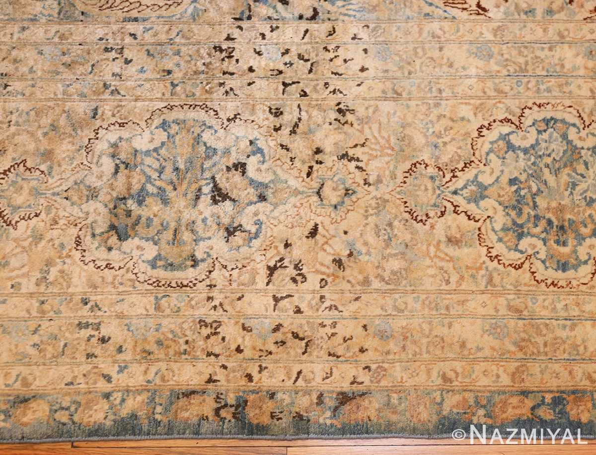 large decorative antique persian kerman rug 50622 border Nazmiyal