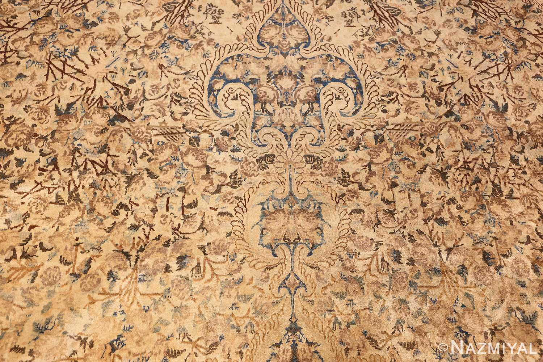 large decorative antique persian kerman rug 50622 field Nazmiyal