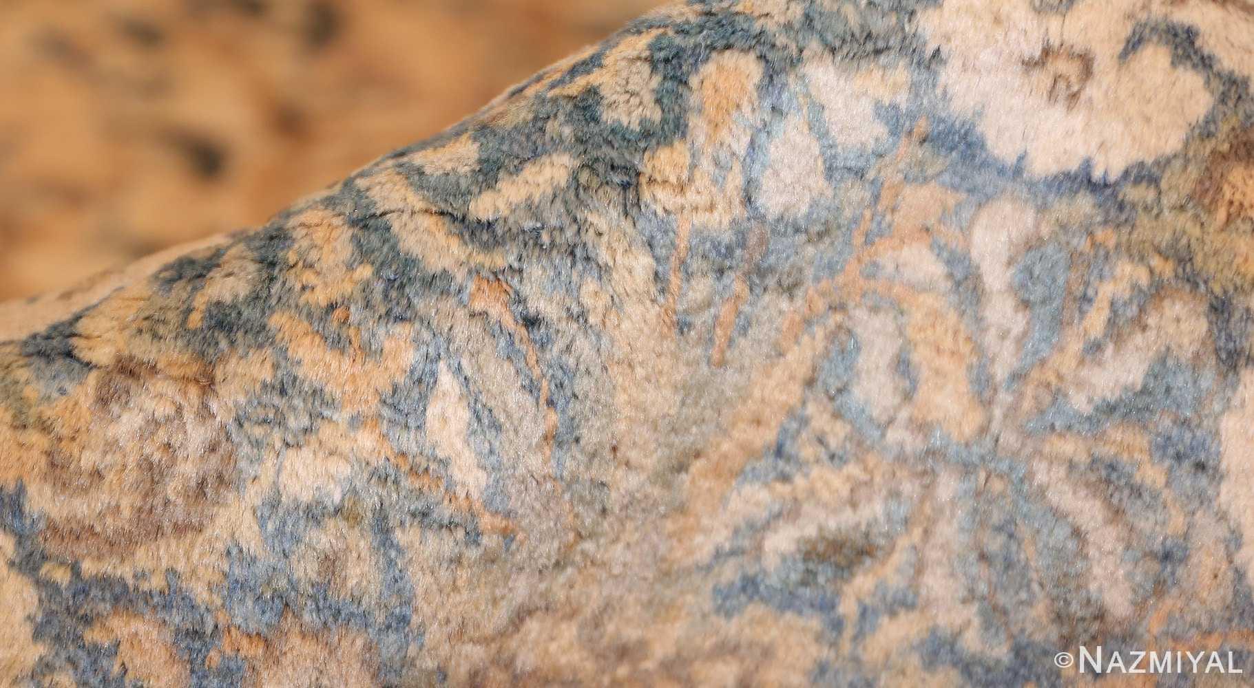 large decorative antique persian kerman rug 50622 pile Nazmiyal