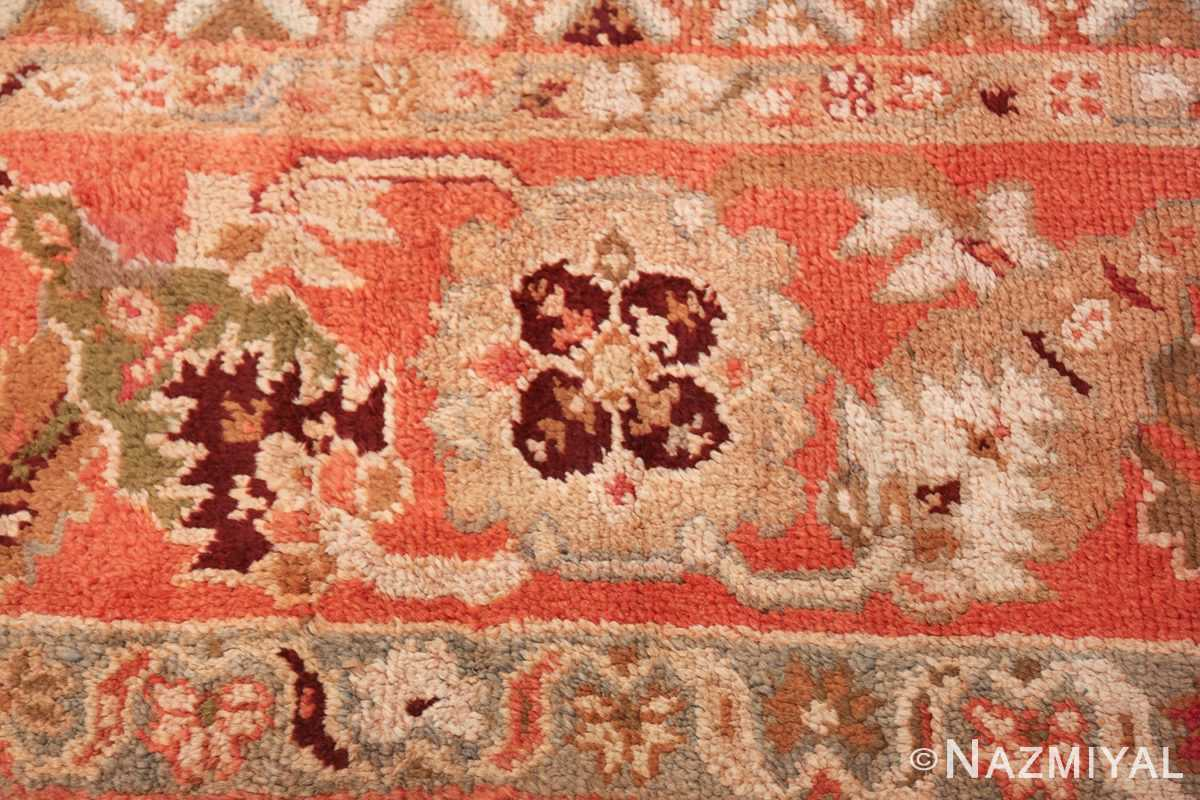 Large Ivory Background Antique Irish Donegal Rug 47566 Soft Texture Nazmiyal