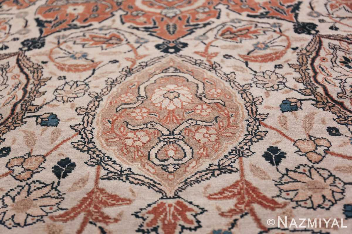 Large Persian Ardabil Design Tabriz Antique Rug 50615 Decorative Design Nazmiyal