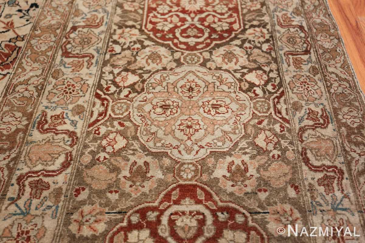 Large Persian Ardabil Design Tabriz Antique Rug 50615 Light Blue Nazmiyal